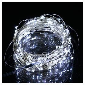 Luce 100 nano led bianco ghiaccio filo nudo uso interno s2