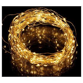 Illuminated wire 100 nano leds warm white internal use s2