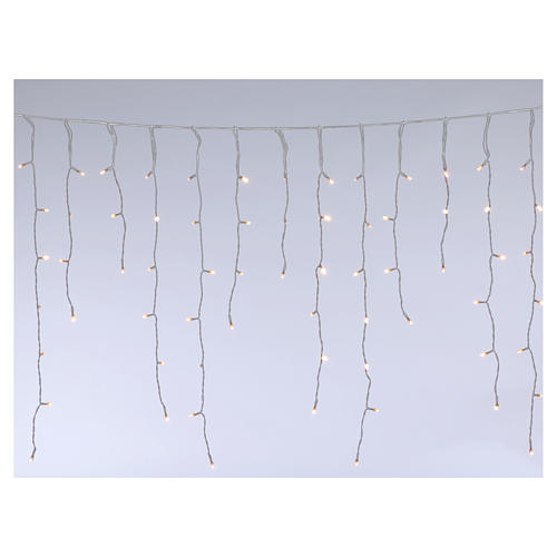 Luce stalattiti 180 Mega Led bianco caldo interno esterno 1