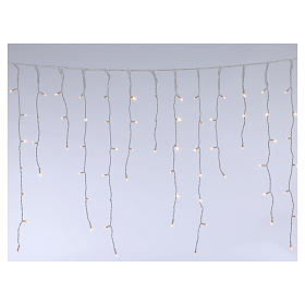 Stalactite light 180 mega leds warm white internal and external use s1