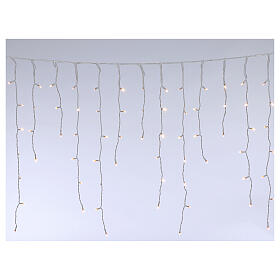Stalactite light 180 mega leds warm white internal and external use s3