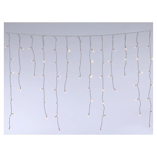 Stalactite light 180 mega leds warm white internal and external use 1