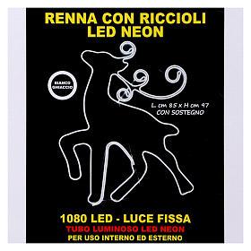 Luce Renna 180 led Ghiaccio tubo neon interno esterno s7