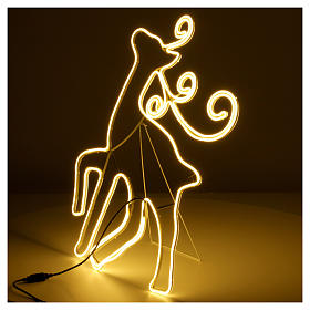 Reindeer light 180 leds warm white internal and external use s5