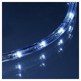 Luce natalizia tubo 50 m led ghiaccio 2 vie - a taglio s4