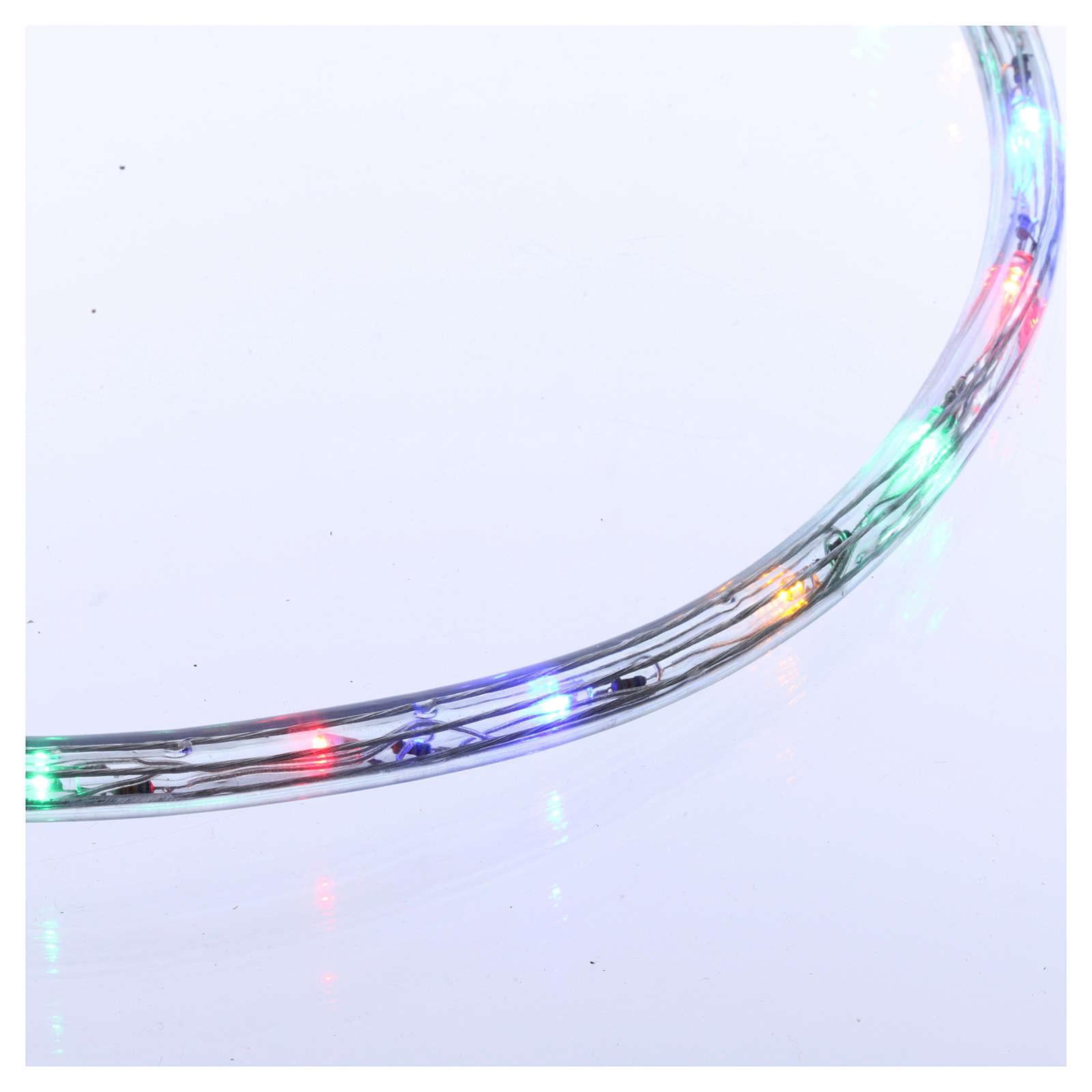 Luce tubo 50 m Led multicolor 2 vie- a taglio 3