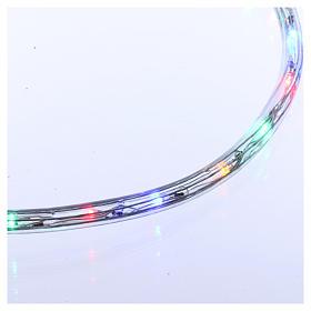 Luce tubo 50 m Led multicolor 2 vie- a taglio s3