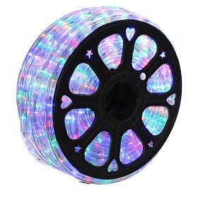 Luz tubo led multicolor 50 m 3 vías al corte s3