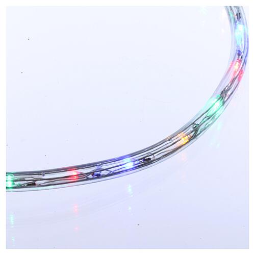 Luz tubo led multicolor 50 m 3 vías al corte 3