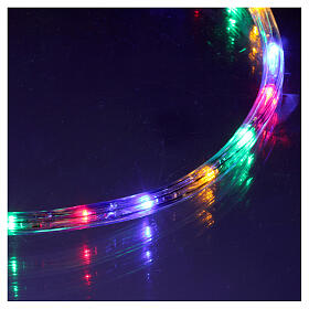 Tube led multicolore 50 m 3 fils à découper s2