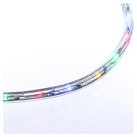 Tube led multicolore 50 m 3 fils à découper s4