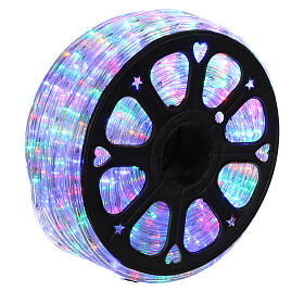 Christas led tube multicoloured 50 m triple pole cuttable s3