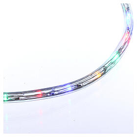 Christas led tube multicoloured 50 m triple pole cuttable s4