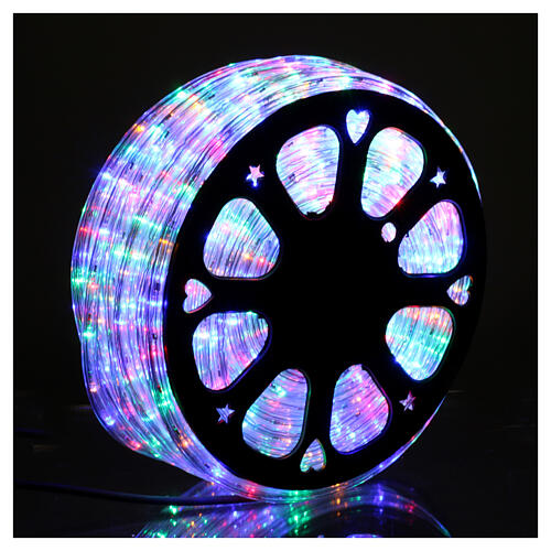 Christas led tube multicoloured 50 m triple pole cuttable 2
