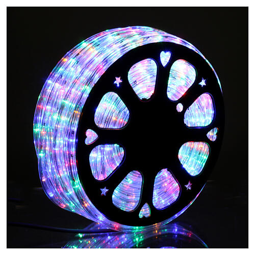 Christas led tube multicoloured 50 m triple pole cuttable 1