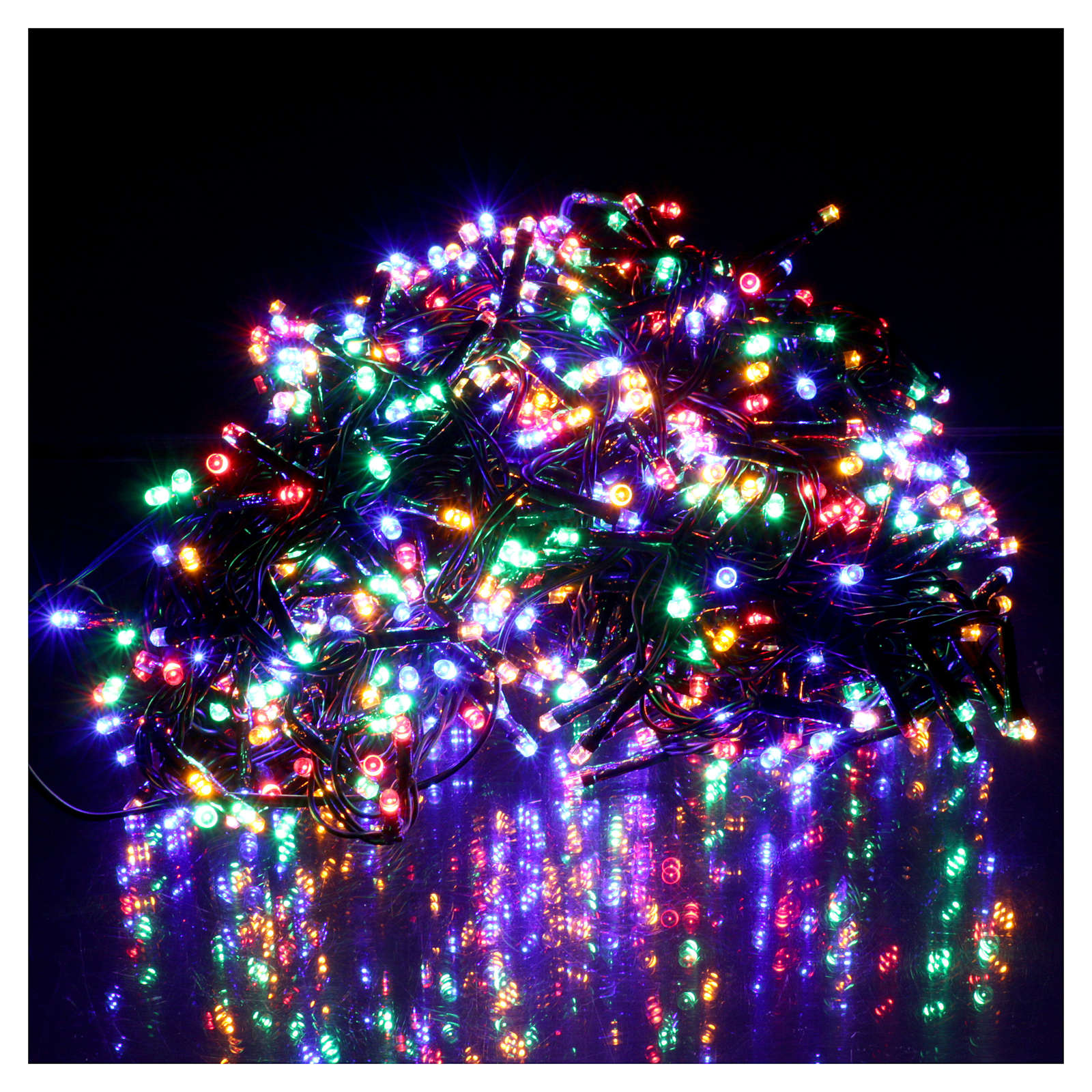 christmas lights 750 multicolored programmable leds internal