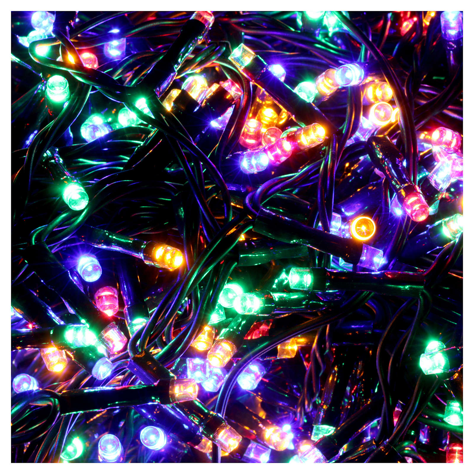 Christmas lights 750 multicolored programmable leds internal and external use 3