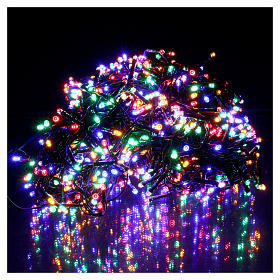 Christmas lights 750 multicolored programmable leds internal and external use s2
