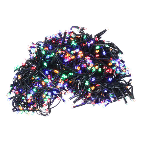 Christmas lights 750 multicolored programmable leds internal and external use 1