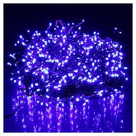 Luci di Natale 750 LED blu programmabile ESTERNO INTERNO corrente s2