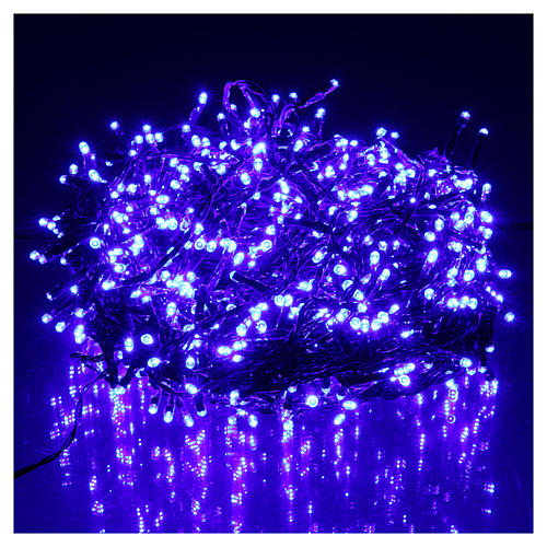 Luci di Natale 750 LED blu programmabile ESTERNO INTERNO corrente 2