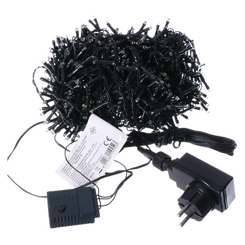 Christmas lights 750 LEDS warm white not programmable internal and external use 4
