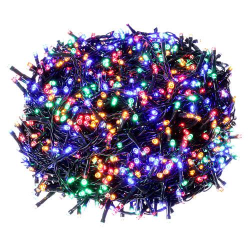 96ddb8998c6 Luces Navideñas 1500 LED multicolores programable EXTERIOR INTERIOR  corriente 1