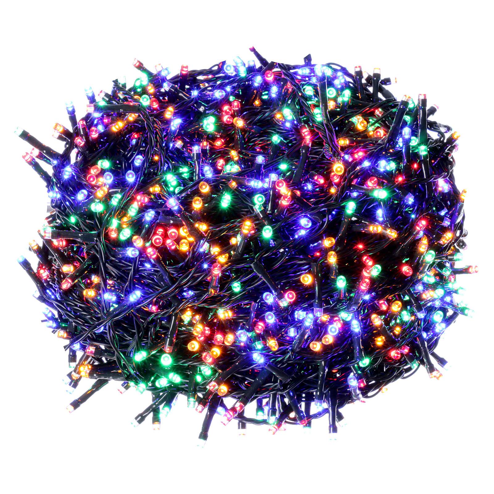 éclairage No l 1500 LED multicolores programmables