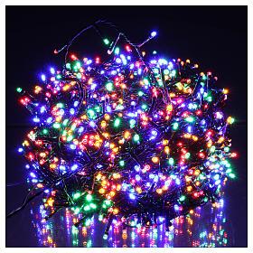 Luci Natalizie 1500 LED  multicolor programmabile ESTERNO INTERNO corrente s2