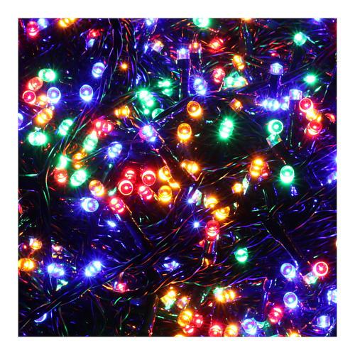 Luci Natalizie 1500 LED  multicolor programmabile ESTERNO INTERNO corrente 3