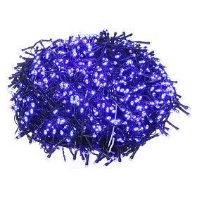 Luci Natalizie 1500 LED blu programmabile ESTERNO INTERNO corrente s1