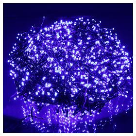 Luci Natalizie 1500 LED blu programmabile ESTERNO INTERNO corrente s2