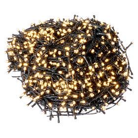 Catena luci di Natale 1500 LED bianco caldo programmabile ESTERNO INTERNO corrente s1