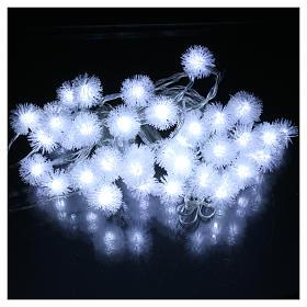 Luci Natalizie fiocco di neve 40 LED  bianco freddo programmabili corrente s2