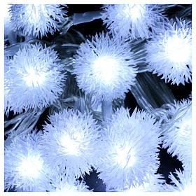 Luci Natalizie fiocco di neve 40 LED  bianco freddo programmabili corrente s3
