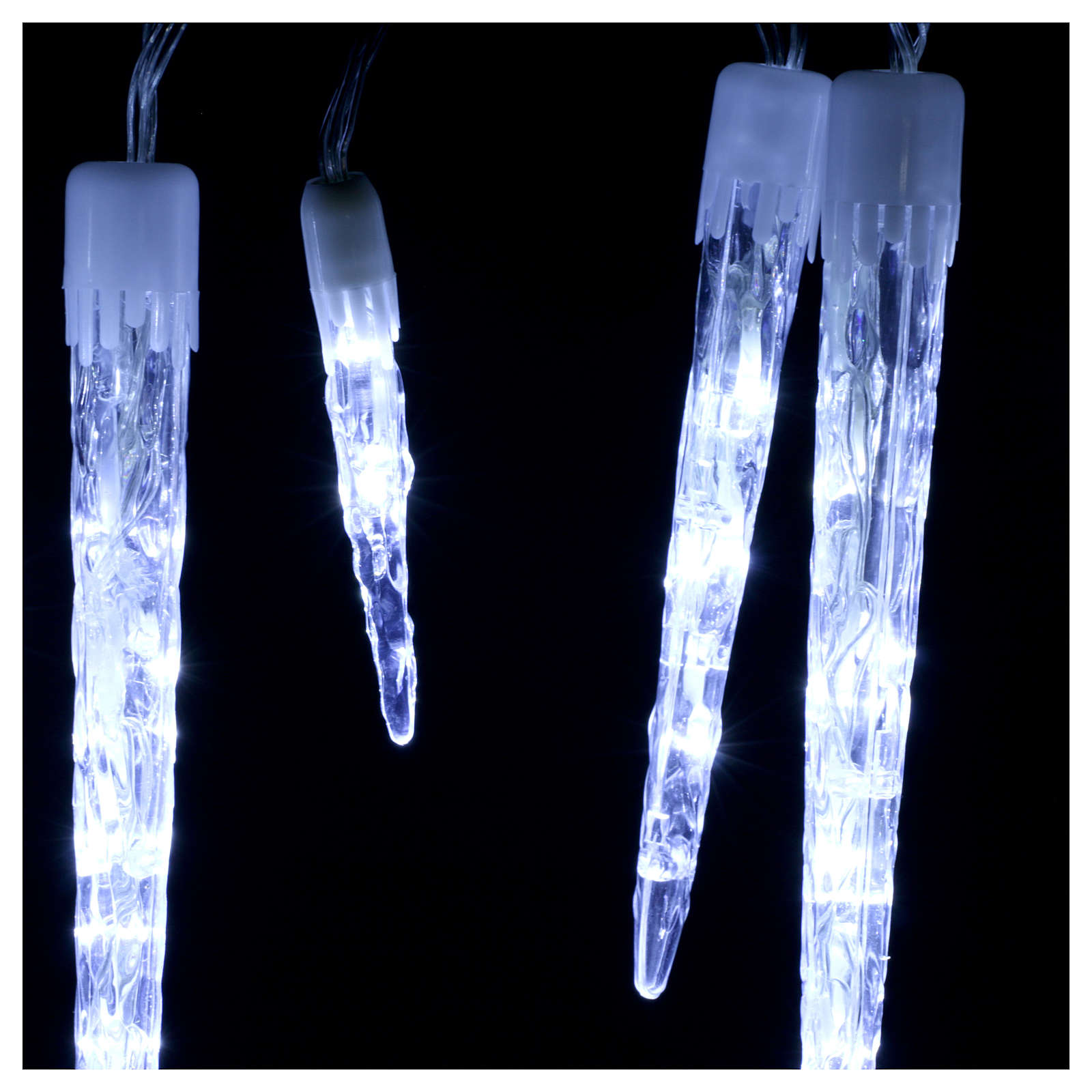 Christmas chain 15 icicles 70 leds internal external use 3