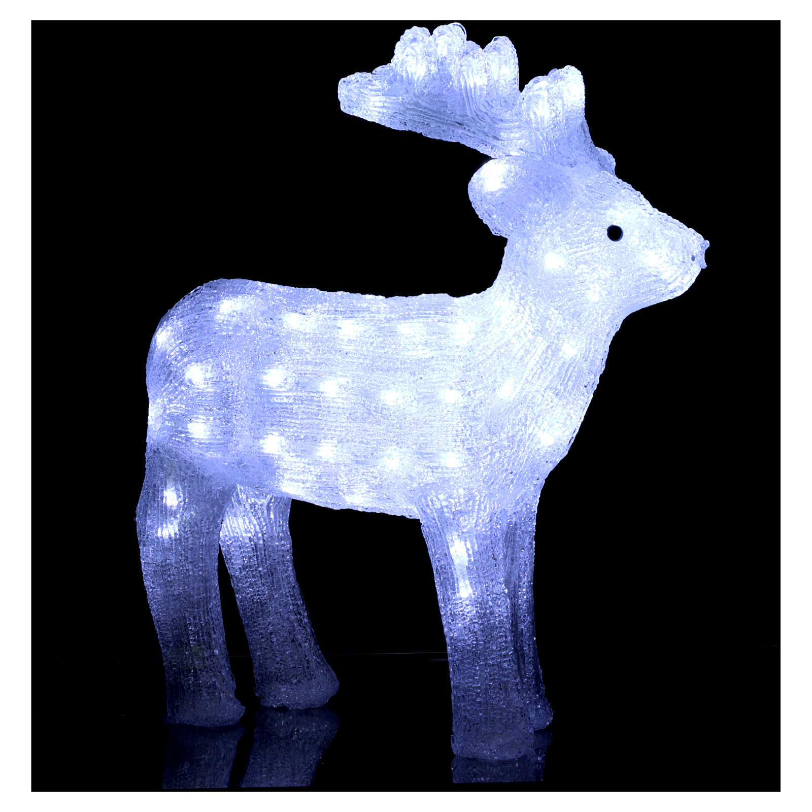 Christmas light reindeer shape 80 leds internal and external use 50 cm 3