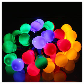 Illuminated chain 30 coloured leds internal and external use s2