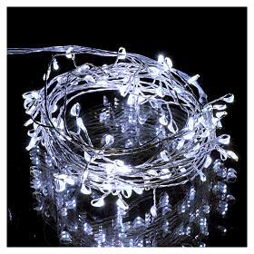 Luce rametto filo nudo 100 nano led ghiaccio uso interno s2
