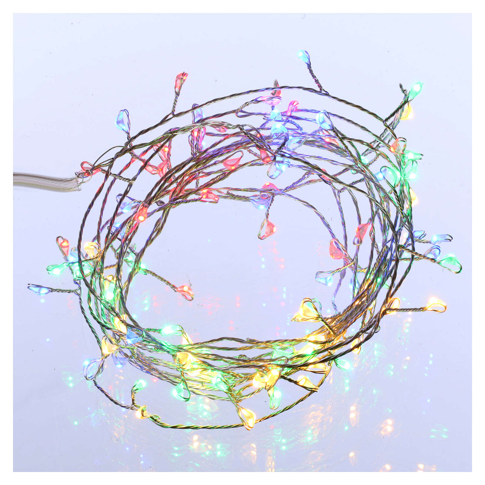 Bare wire lights 100 multicolored nano leds for internal use 3