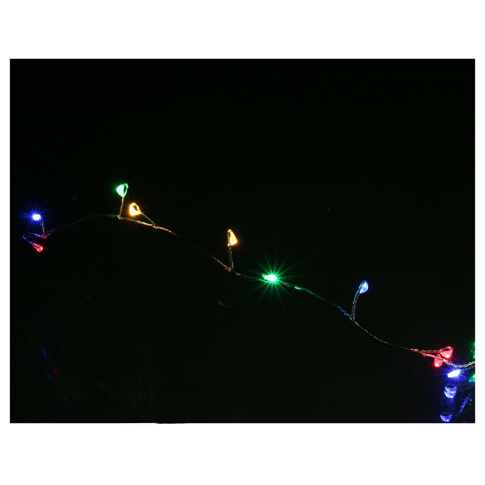 Bare wire light 100 multicoloured nano leds for internal use 3