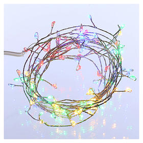 Bare wire lights 100 multicolored nano leds for internal use s1