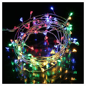Bare wire lights 100 multicolored nano leds for internal use s2
