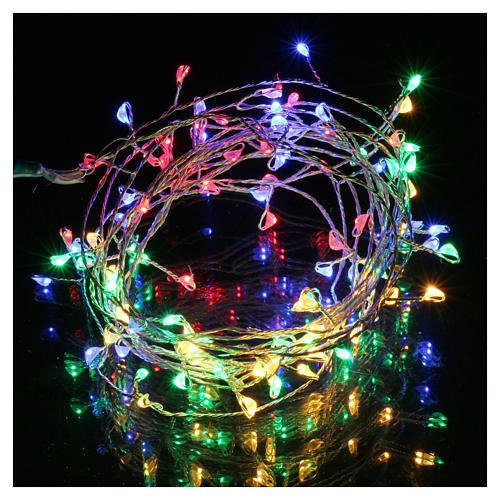 Bare wire lights 100 multicolored nano leds for internal use 2