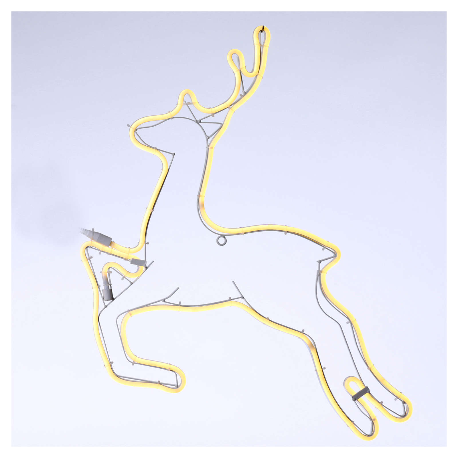 Reindeer light 360 warm white leds internal and external use 57x57 cm 3