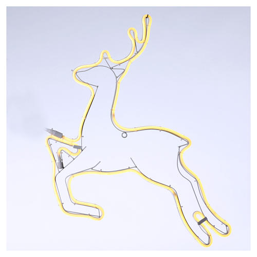Reindeer light 360 warm white leds internal and external use 57x57 cm 1