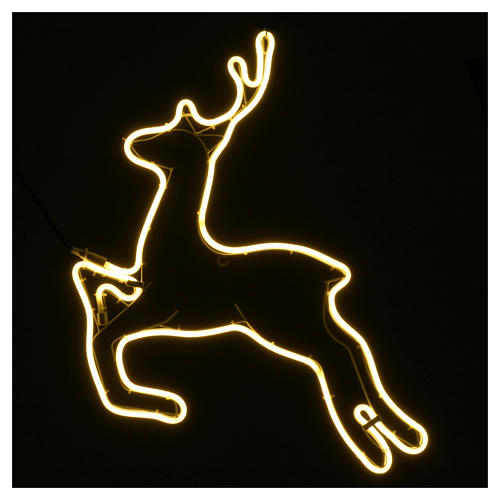 Reindeer light 360 warm white leds internal and external use 57x57 cm 2