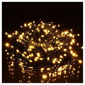 Luci di natale 300 LED bicolore bianco caldo e multicolore s3