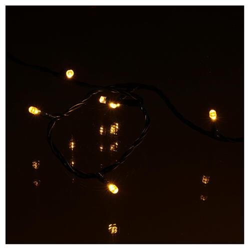 Luci di natale 300 LED bicolore bianco caldo e multicolore 4