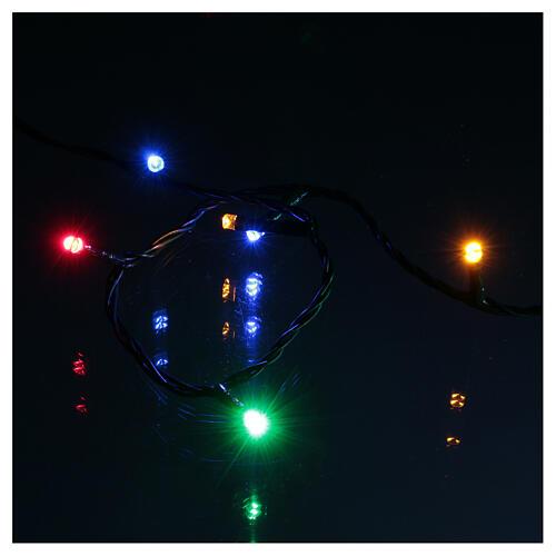Luci di natale 300 LED bicolore bianco caldo e multicolore 5